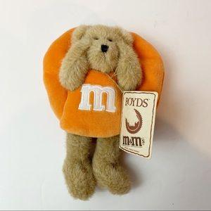 Boyd's Bears M&M Collection Miniature Teddy Bear Orange